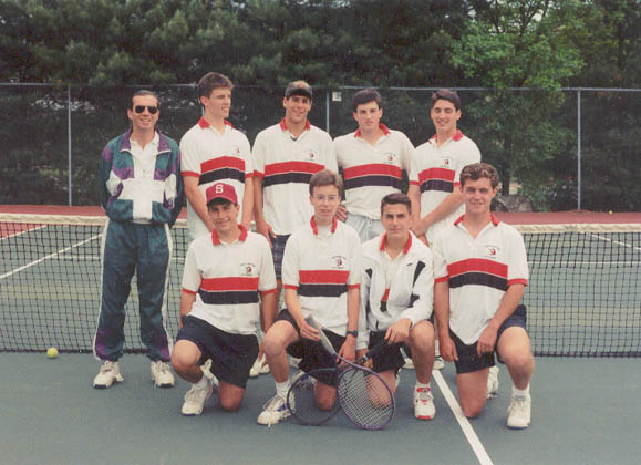 1993 Winchester High School Tennis Team