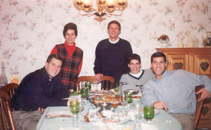 1999 Thanksgiving Dinner