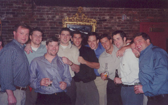 Bob's Surprise Party at the Big Easy in 2000