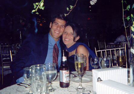 Pete and Crissy in October 1998