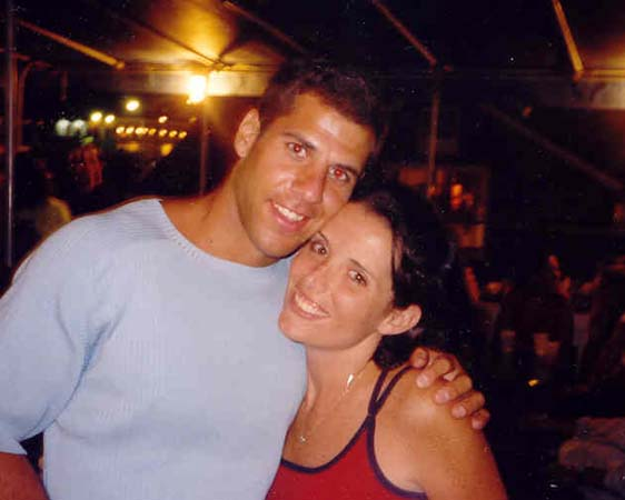 Pete and Crissy in Summer 2000